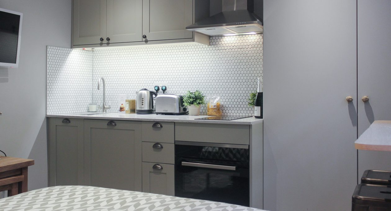 All our studio apartments to rent in London feature high-spec kitchen facilities