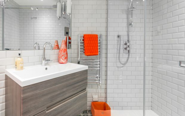 The mod cons of our studio apartments extend into the bathroom with high-quality fittings and heated towel rail
