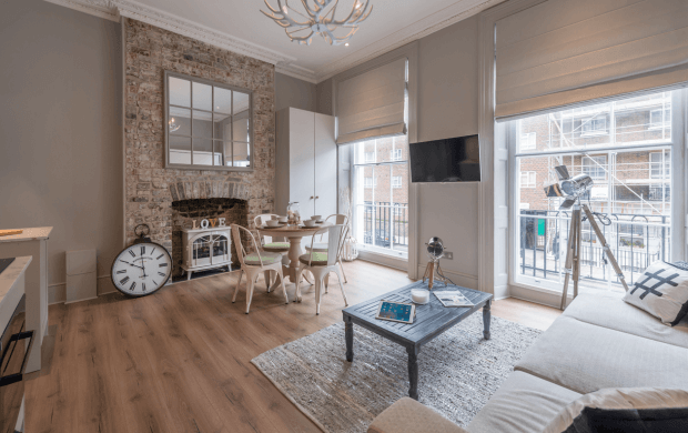 Enjoy some of the period features with our studio apartments to rent in London